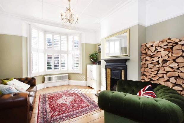 Victorian Terraced House Hove, Plantation Shutters