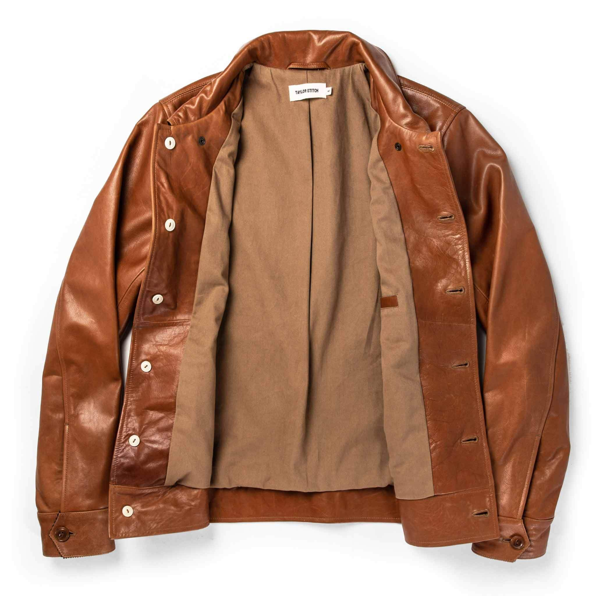 The Cuyama Jacket In Cognac Jackets Taylor Stitch Timeless Fashion [ 2048 x 2048 Pixel ]