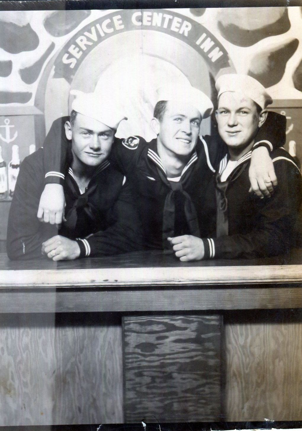 Vintage Photo..Sailors Night Out 1940's, Original Arcade Photo, Old Photo Snapshot, Vernacular Photography, American Social History Photo by iloveyoumorephotos on Etsy