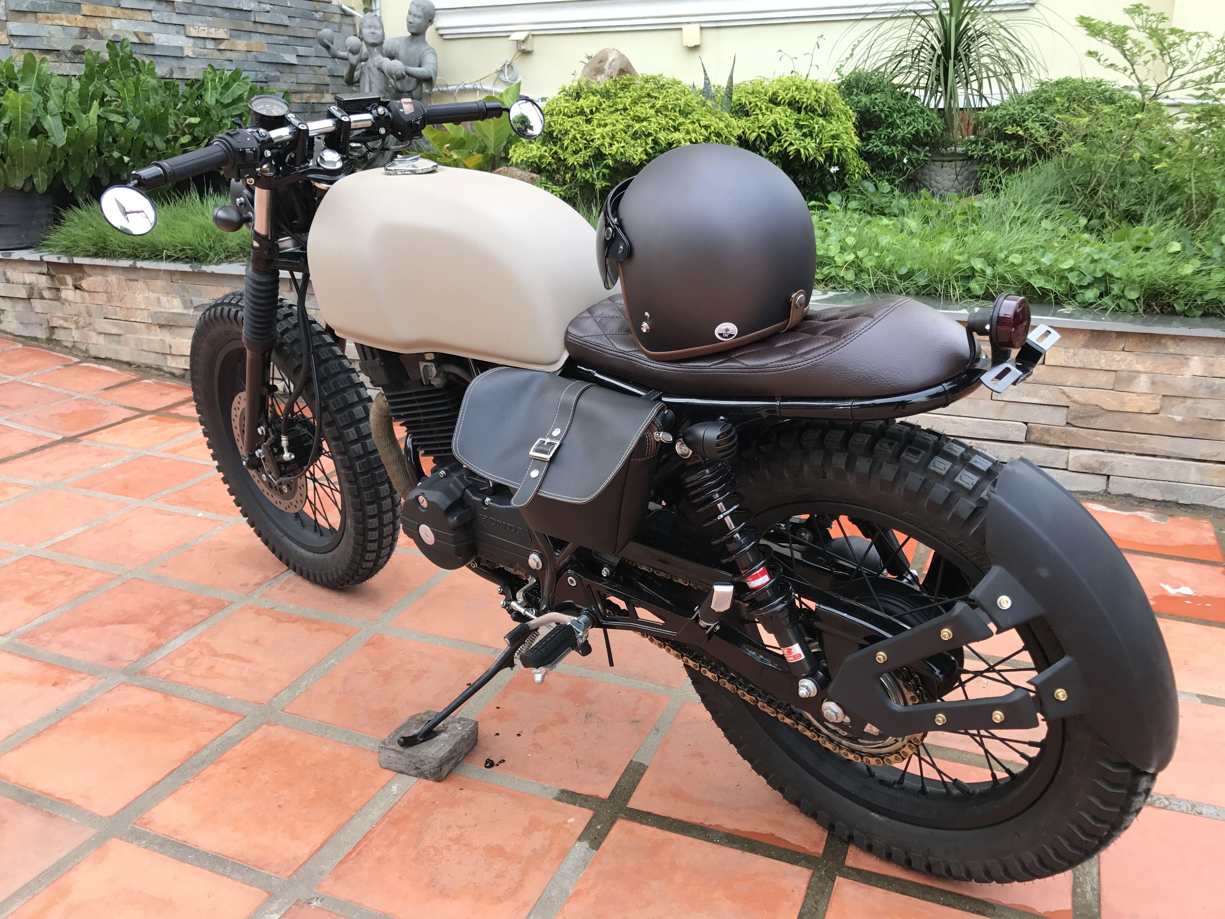 gb250 honda caferacer cafebrat bratstyle brat cafe project custom