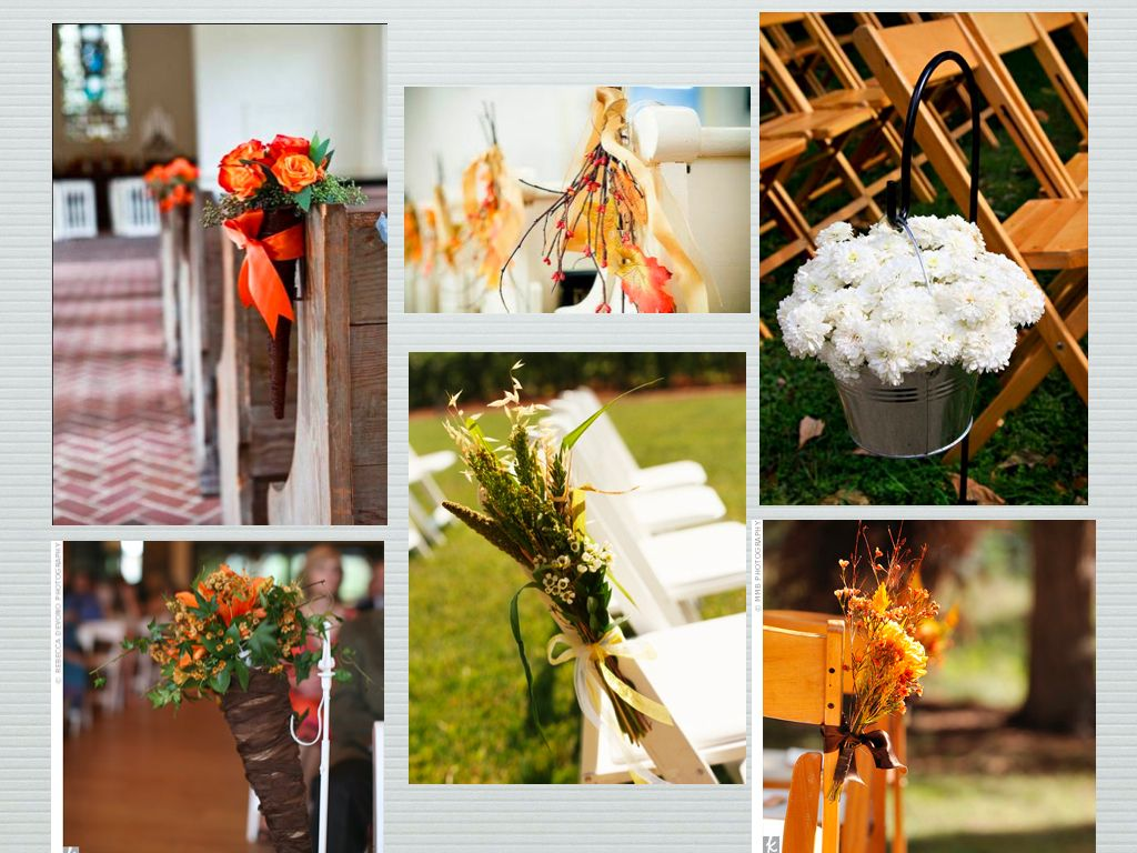 Fall Wedding Aisle Decorations The Challenges Behind Fall Weddings