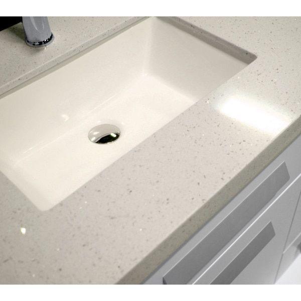 84 inch vanity top double sink. Design Element Moscony 84 inch Quartz Double Sink Pearl White Bathroom  Vanity
