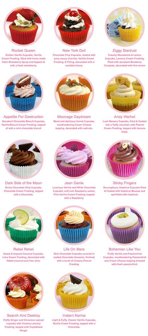Vegan Cupcakes Rock N Roll Style Vegan Cupcakes Vegan Sweets Cupcake Flavors