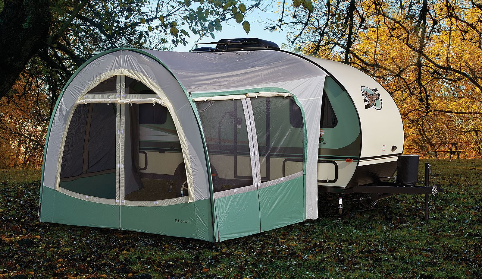 R Pod Travel Trailers By Forest River RV Optional Dome Screen Room
