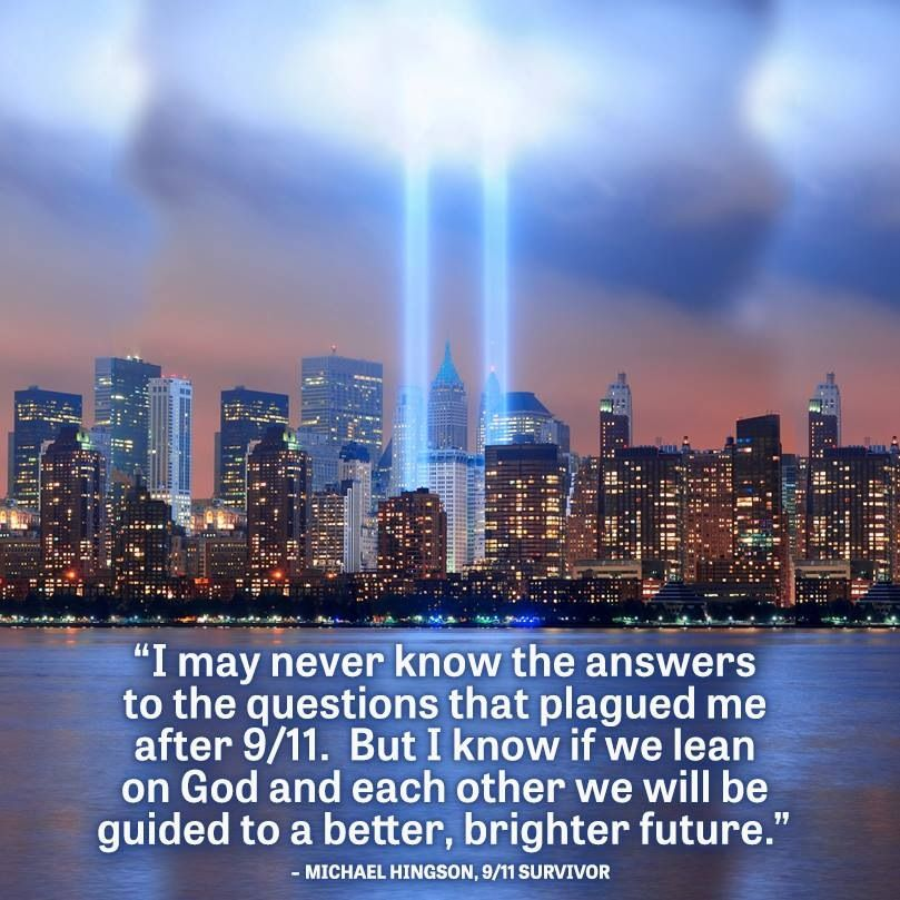 9/11 survivor quote | Our Nation | Inspirational quotes, In ...