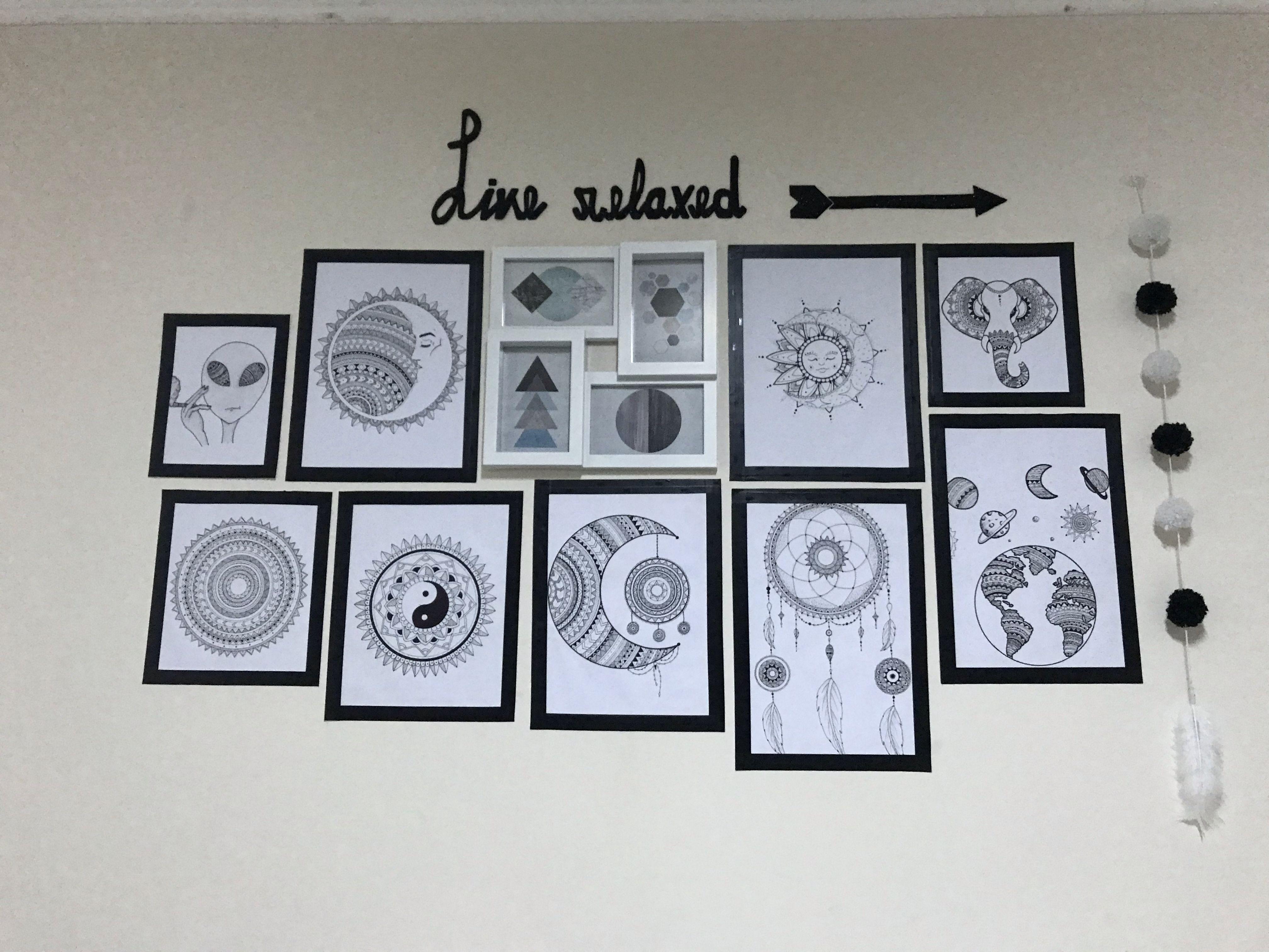 Cuarto Decorado Con Dibujos