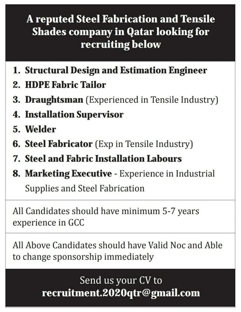 Pin On Qatar Jobs
