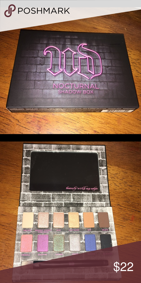 Urban Decay Nocturnal Shadow Box NWT | Abs, Brand new and Ea
