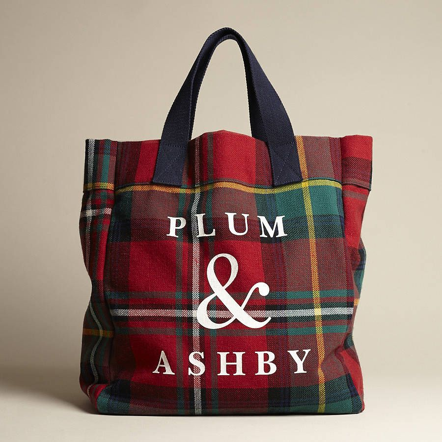 Are You Interested In Our Tartantote Bag With Our Red Tartan Bags You Need Look No Further Plum And Ashby Tote Bag Tote