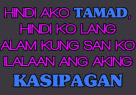 Pin by ghine abainza on ang joke joke | Tagalog quotes, Jokes quotes