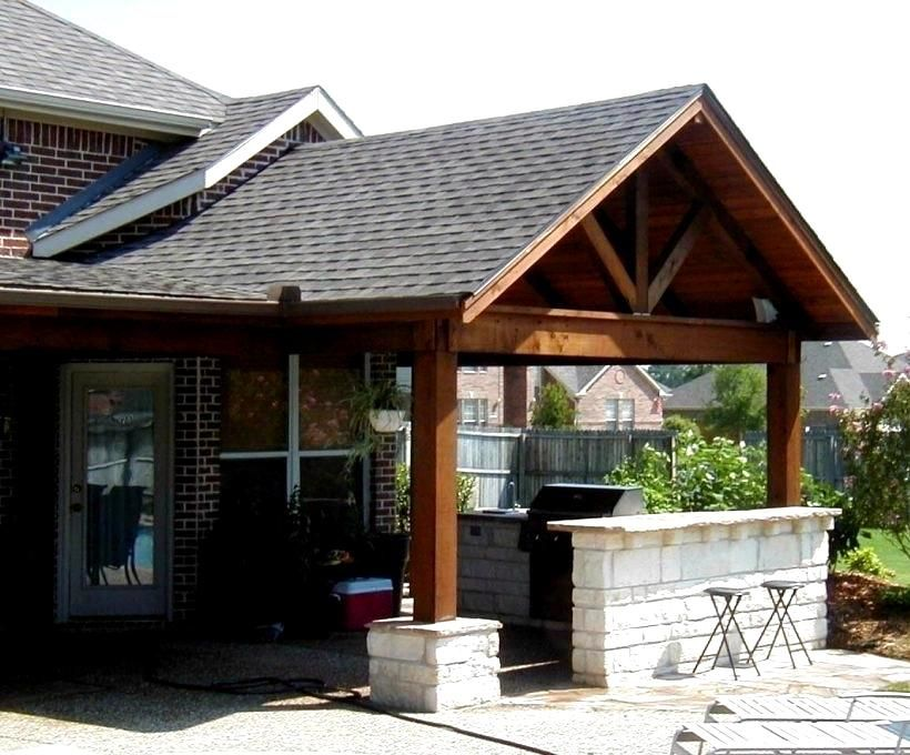 Fascinating Patio Cover Design Plans Framing N How To Build A Porch With A Gable Roof Thesouvlakihouse Outdoor Covered Patio Covered Patio Design Budget Patio
