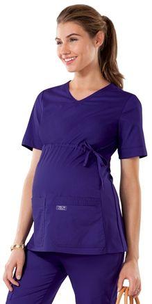 cf5dfdb48 Scrubs - Cherokee Workwear Core Stretch Maternity Scrub Top Delantal  Educadora