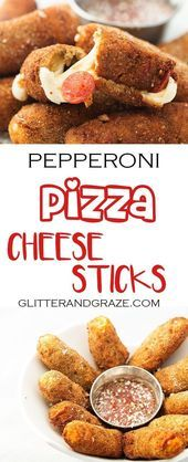 These pizza cheese sticks are a must for your super bowl party A great way to c These pizza cheese sticks are a must for your super bowl party A great way to c