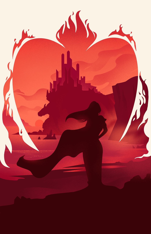 Juego De Tronos Melisandre Dragonstone Señor De Arte Ligero Etsy Game Of Thrones Poster Game Of Thrones Art Melisandre Art