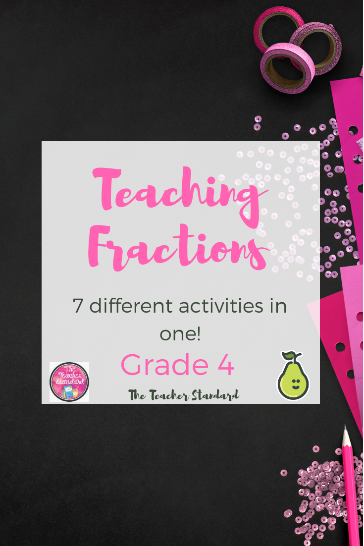 Fractions Fourth Grade Pear Deck Bundle Fractions Pear Deck Math Graphic Organizers [ 1102 x 735 Pixel ]