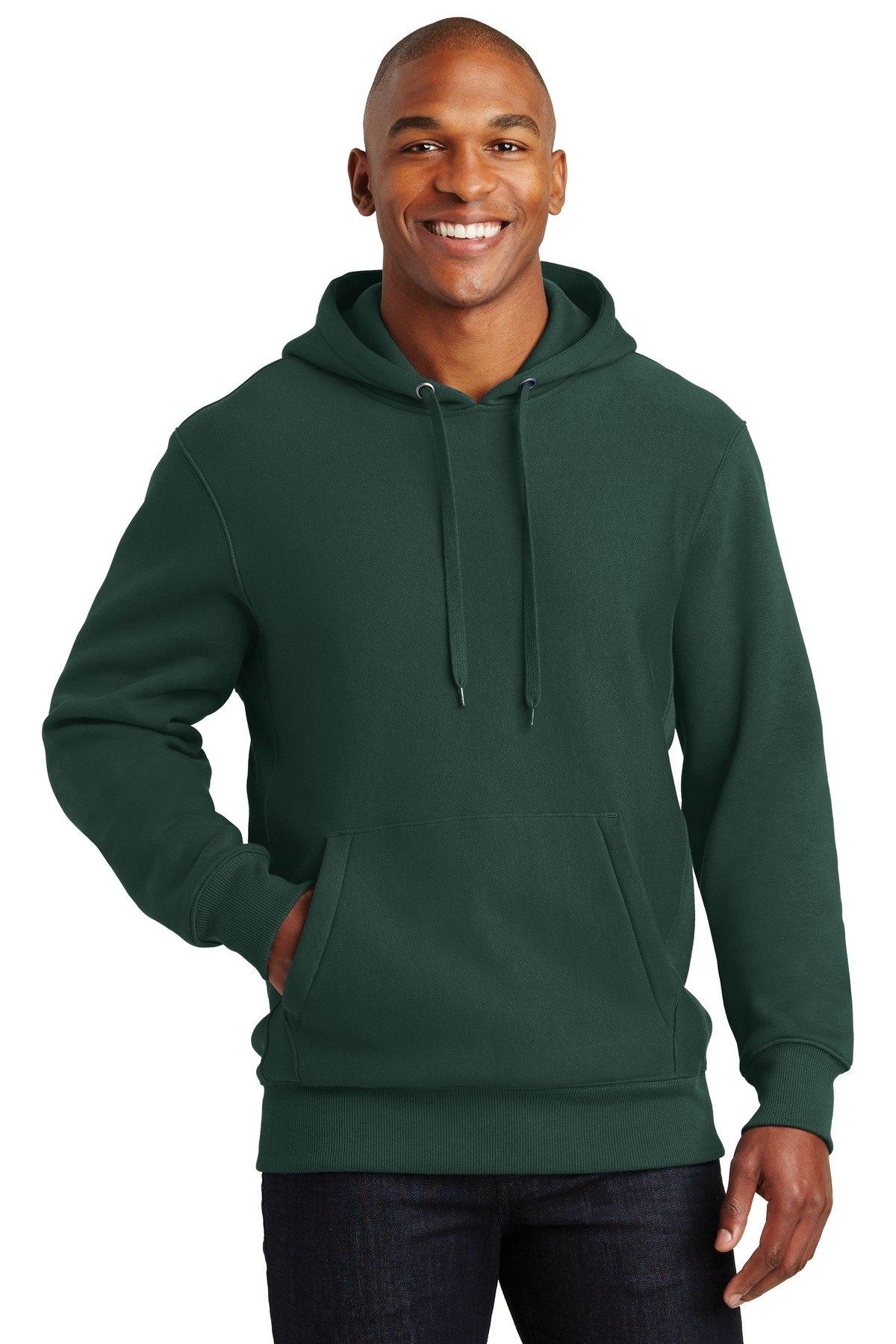 SportTek Super Heavyweight Pullover Hooded Sweatshirt