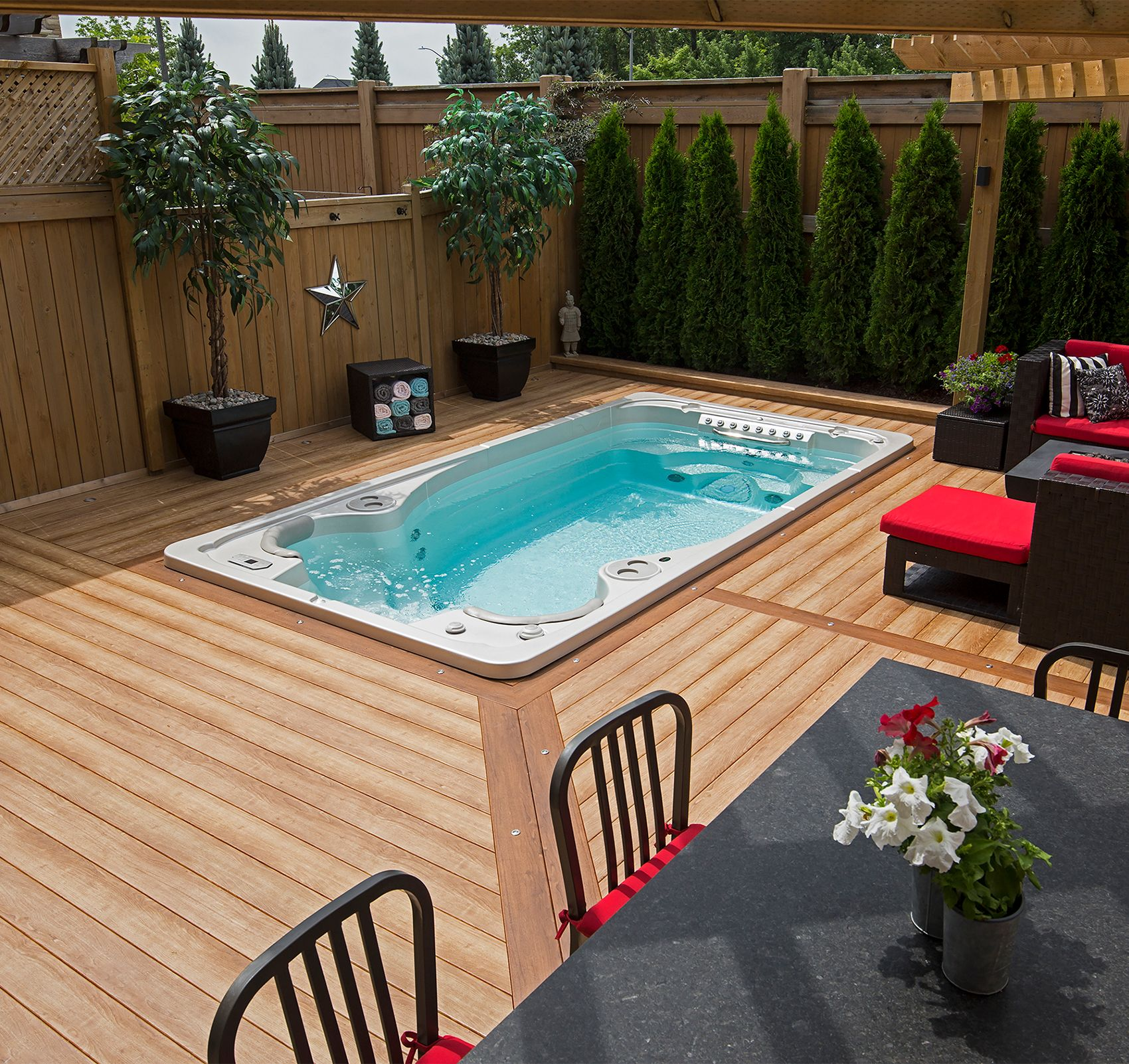 Models The Spa Shoppe Small Backyard Pools Backyard Pool
