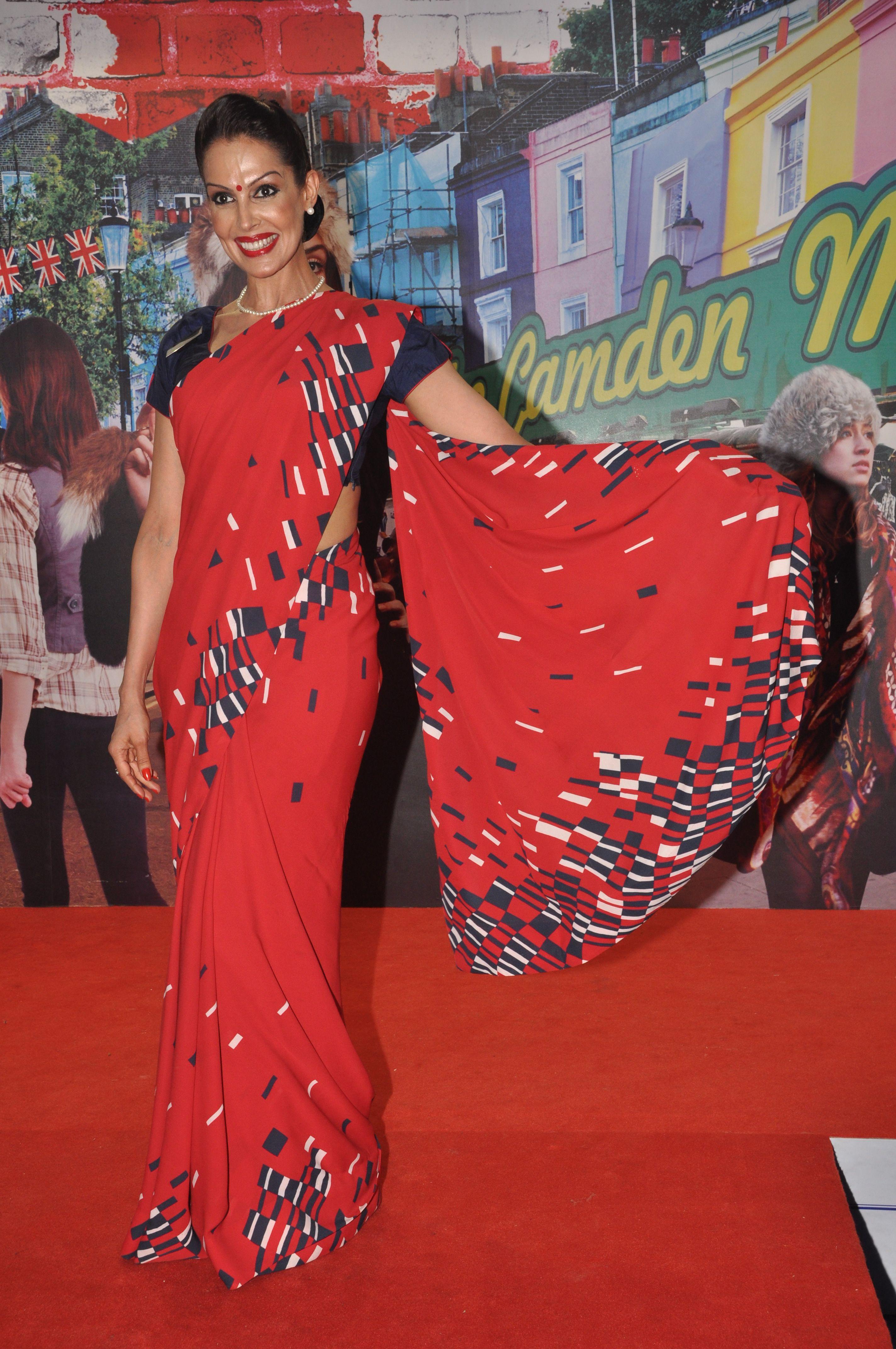 A picture of elegance! Former Miss India Manisha Kohli in