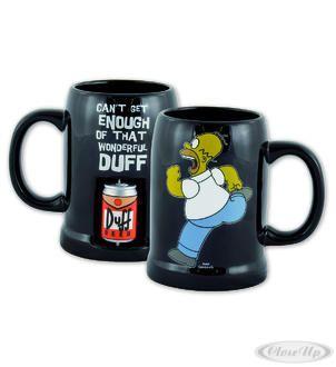 The Simpsons Tasse 3D Bierdose Duff Hier bei www.closeup.de