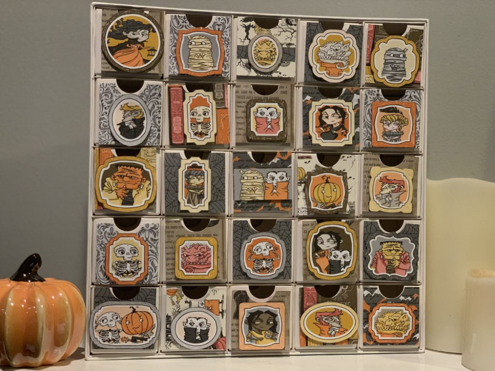 Spooktacular Halloween Countdown Calendar Stampin
