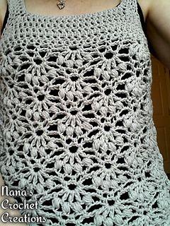 Nanas Crochet Creations Nanas Bobbly Tunic Free Crochet
