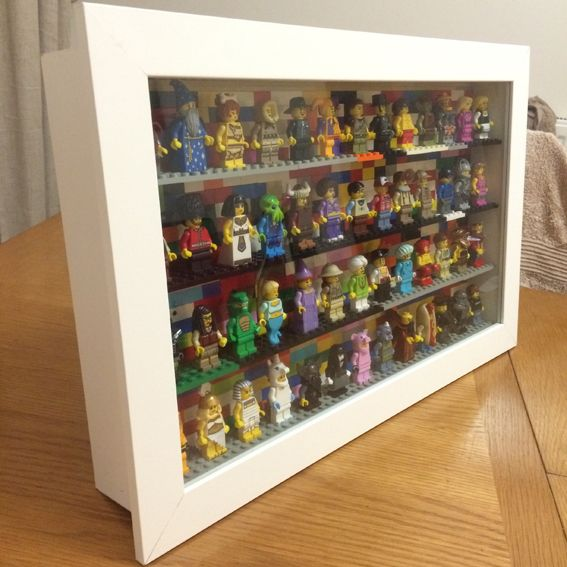 Hi Everyone I M Thinking About Buying This Case For My Licensed Minifigures Can Someone Tell Me Is This Good Lego Display Lego Minifigure Display Ikea Frames