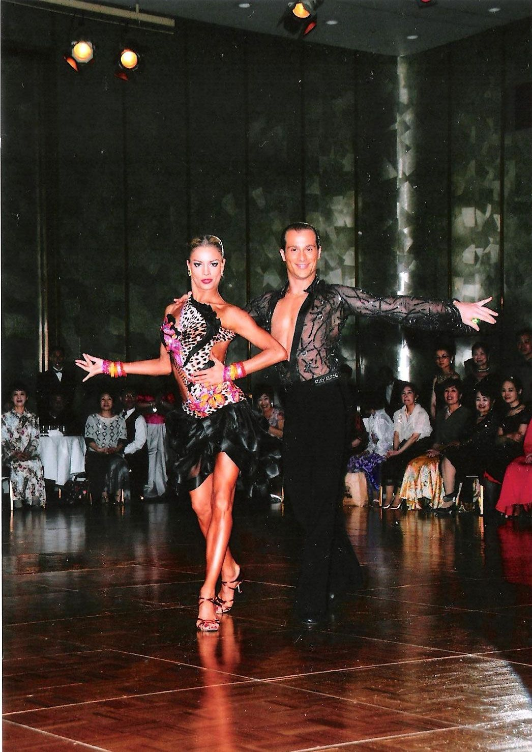 Vestidos Baile Salon Riccardo And Yulia Cha Cha Dance