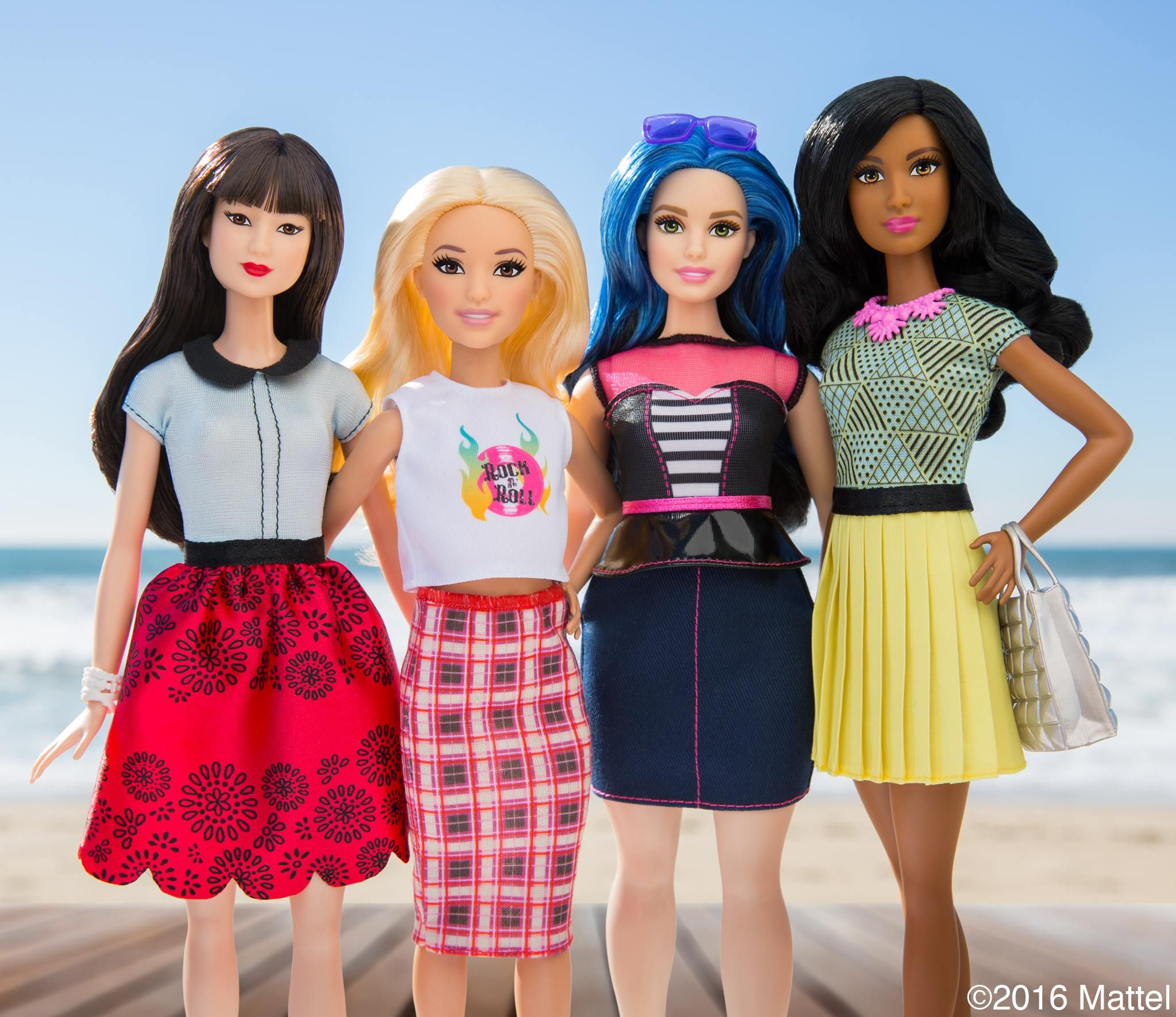 These new barbie dolls which look like real women have taken the toy world bystorm