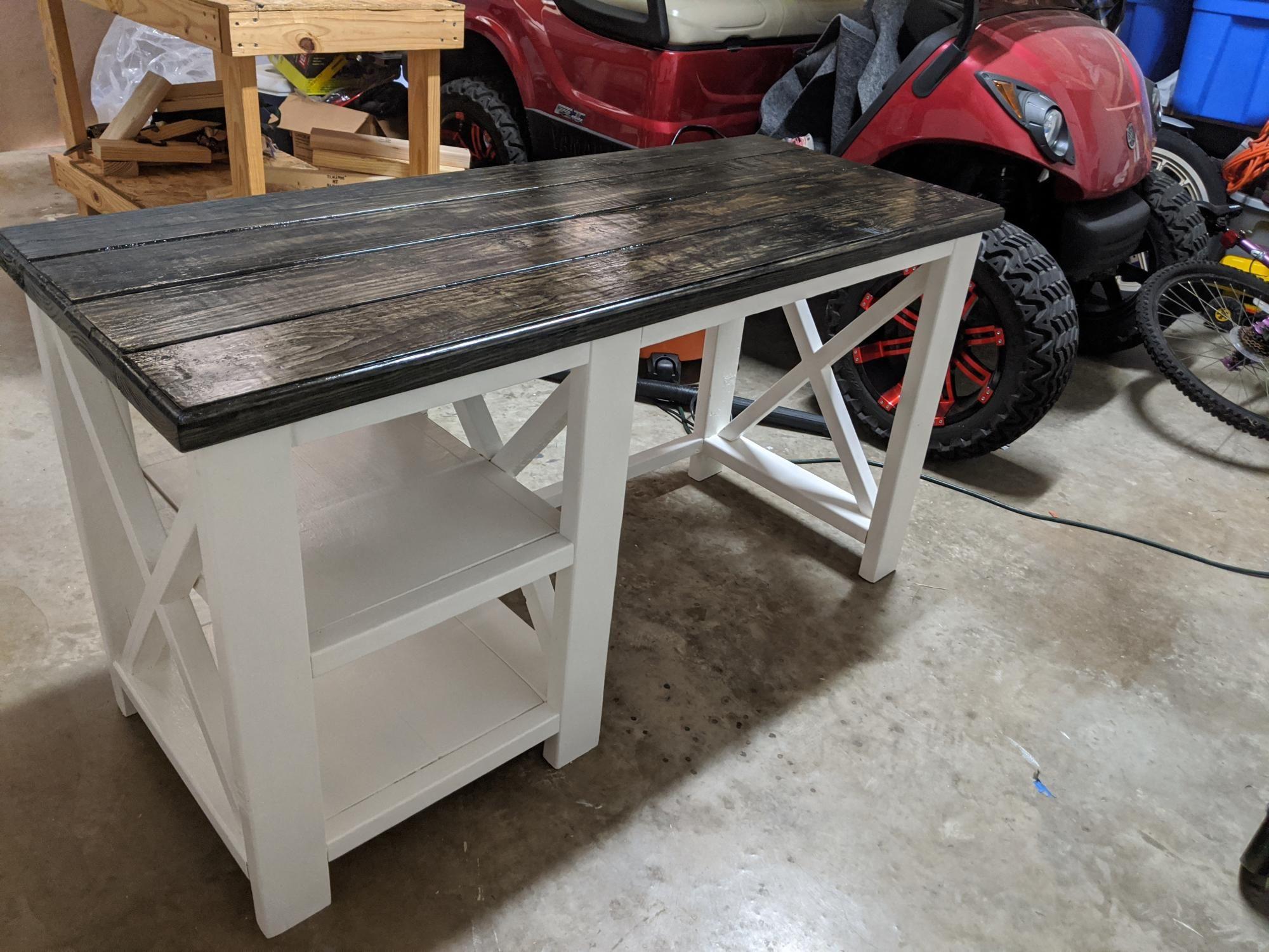 15+ Rustic x desk most popular
