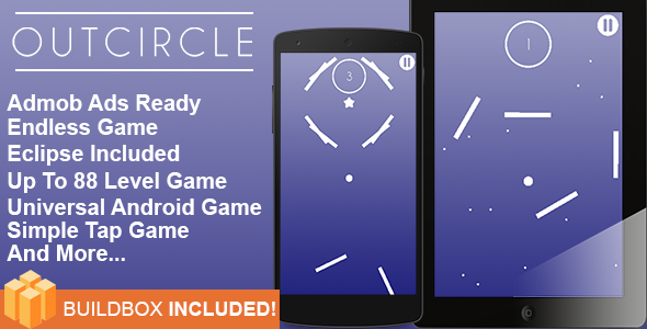 Buildbox Game Template – Out Circle Universal Android Game + Eclipse ...