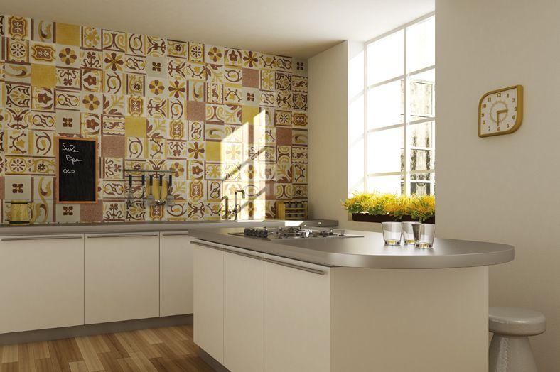 Decorare casa con i mattoni a vista   mattoni a vista in cucina ...