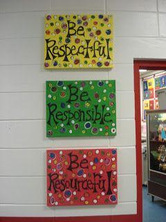 Classroom Decor Linky Party School Decorations Elementary