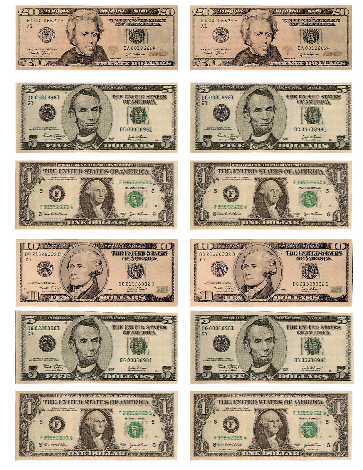 photograph relating to Fake Money Printables identified as Totally free Printable Enjoyable for Anyone: Absolutely free Printable Participate in Income