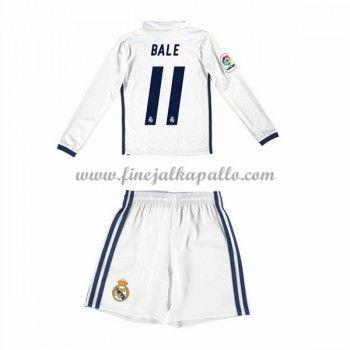Real Madrid Lasten Jalkapallo Pelipaidat 2016-17 Bale 11 Kotipaita Pitkähihainen