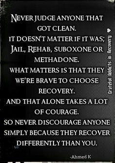 Addiction Recovery Quotes Stunning Recovery Is Different For Everyone  Kick Ass Inspiration
