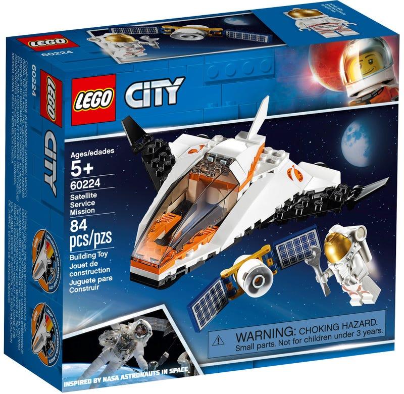Naprawa Satelity 60224 City Oficjalnym Sklepie Lego Pl In 2020 Lego City Space Lego City Lego Space
