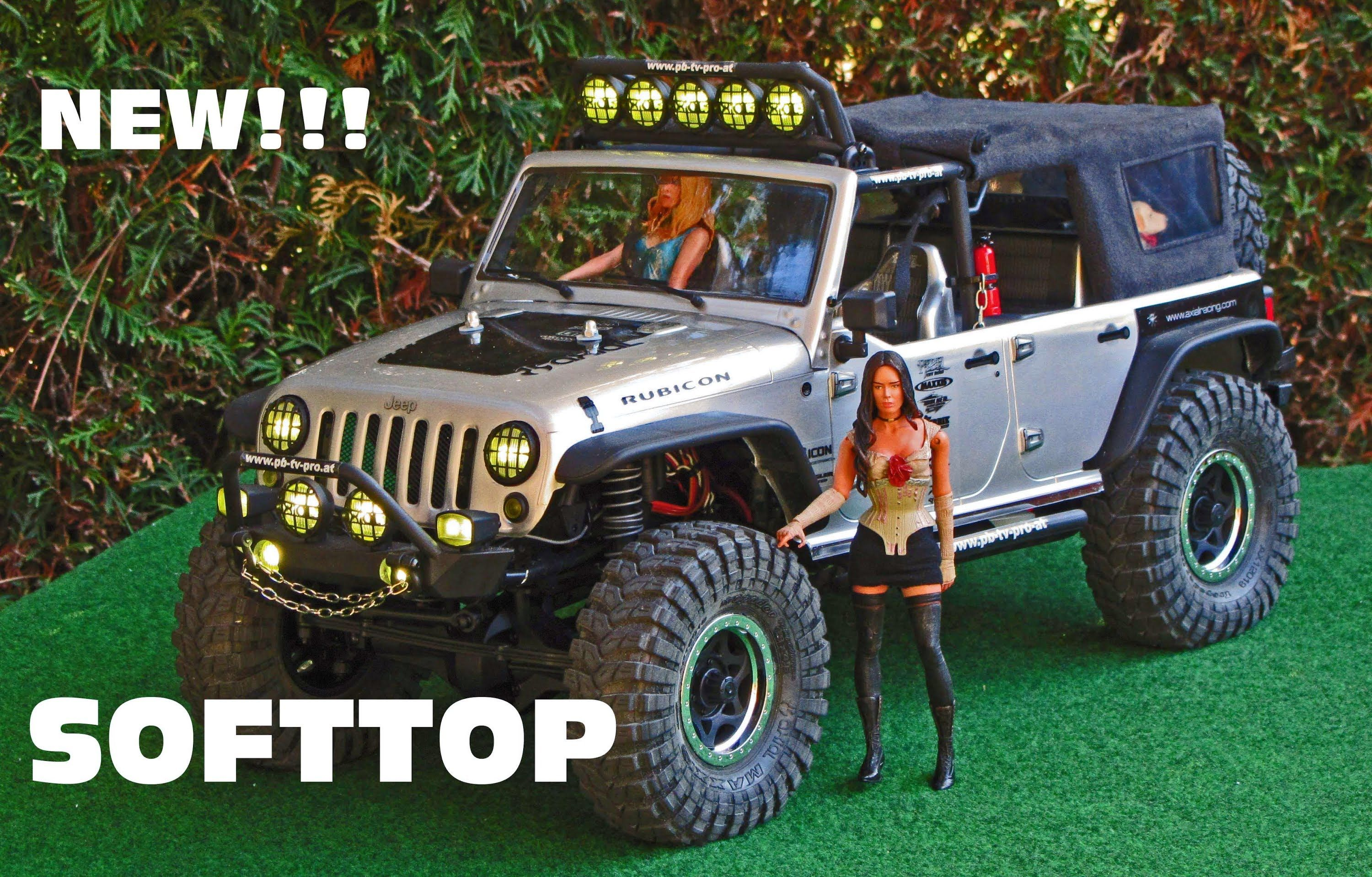 Axial scx10 jeep rubicon softtop how to build a softtop