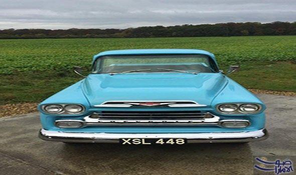 بيع شيفروليه أباتشي موديل 1959 في مزاد تعتبر سيارة شيفروليه أباتشي مثال ا جيد ا للجيل الذي غير مفهوم الشاحنة الصغيرة فهي Chevrolet Apache Chevrolet Apache