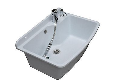 Tough Sink Maximus White Granite Laundry Utility Industrial Garage Kitchen In Home Furniture Amp Diy Kitchen