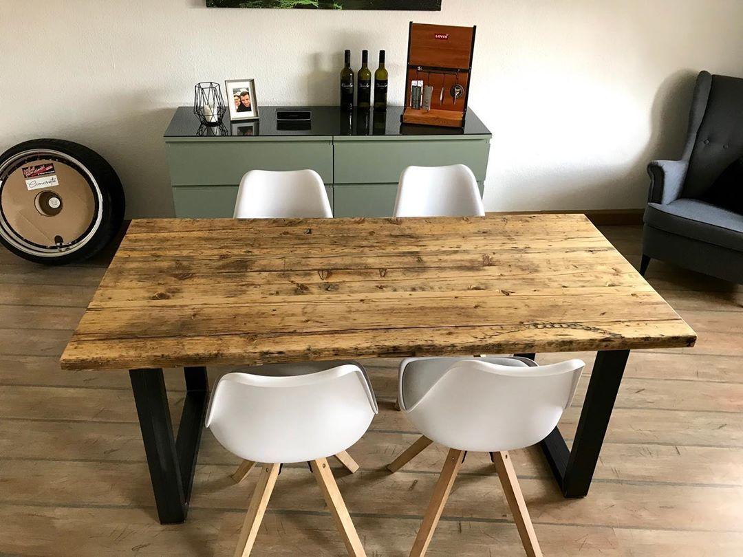 Tisch Herkules Esstisch Massivholzmobel Massivholztisch