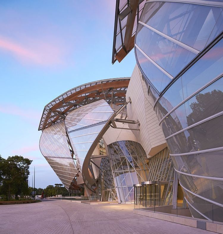 Fondationlv Pinterest Fondation Louis Vuitton Frank Gehry Gehry Architecture