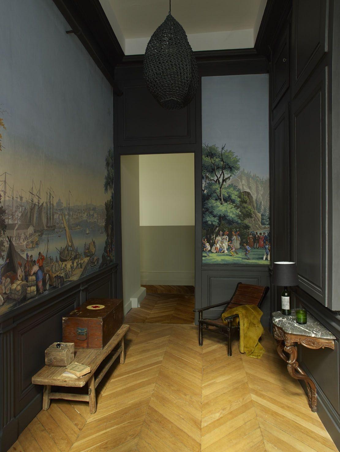 Papier Peint Entree Moderne Épinglé par diana blackwell sur swank walls en 2019
