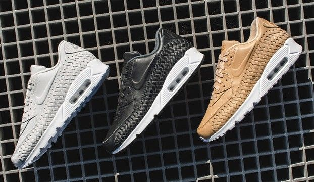 best service fb3ca d513f Sneakers femme - Nike Air Max 90 Woven
