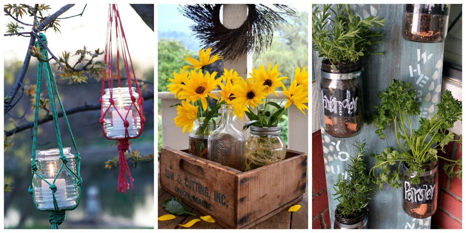 17 clever ways to use mason jars in your garden gardens jars