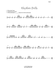rhythm worksheets page with eighth notes dotted quarters and 6 8 bucket drumming pinterest. Black Bedroom Furniture Sets. Home Design Ideas