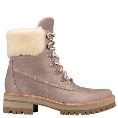 d0b0160d000 Timberland Women's Courmayeur Valley Shearling-Lined Boots Medium ...