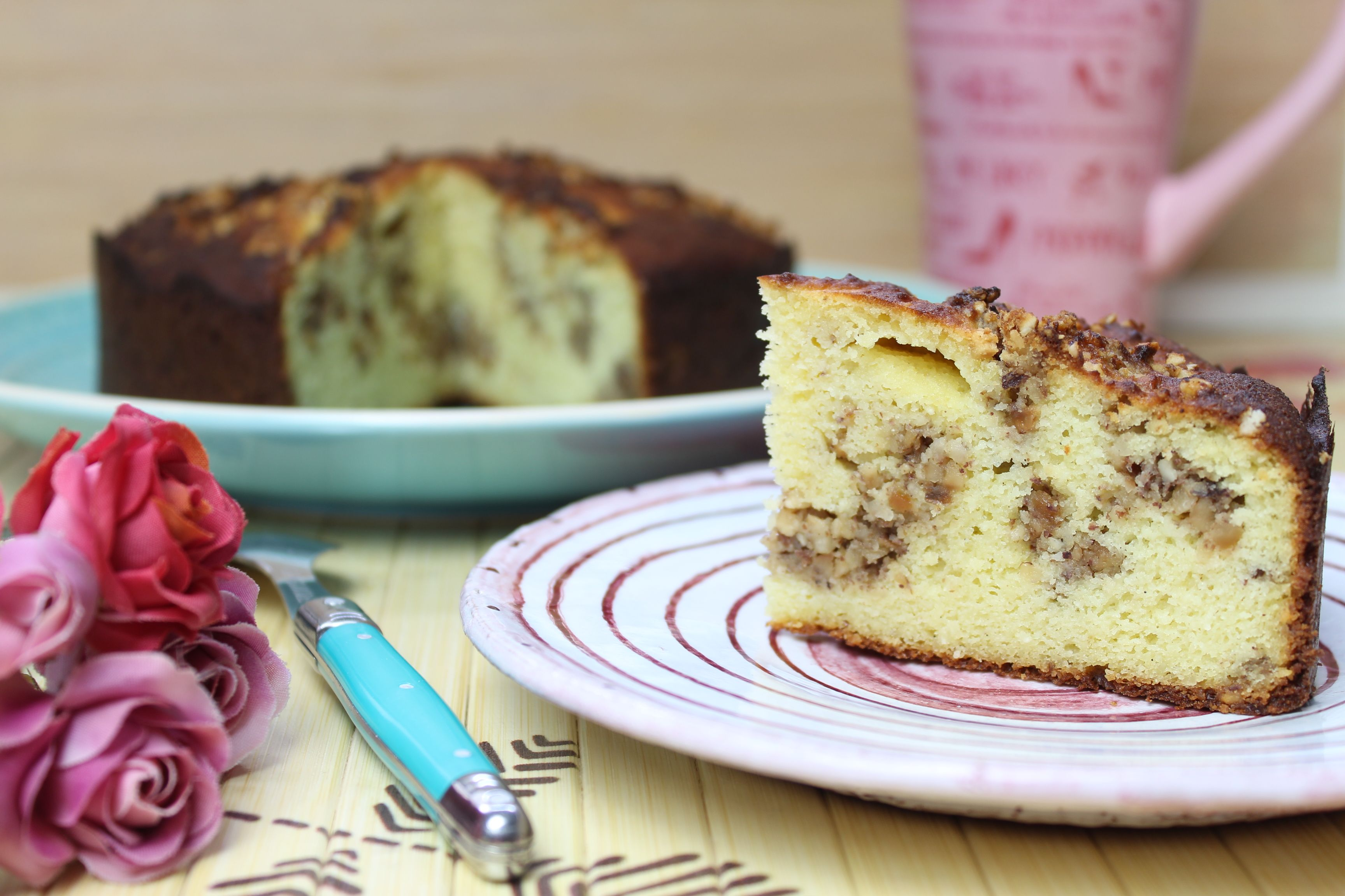 Haselnuss Swirl Kuchen Rezept