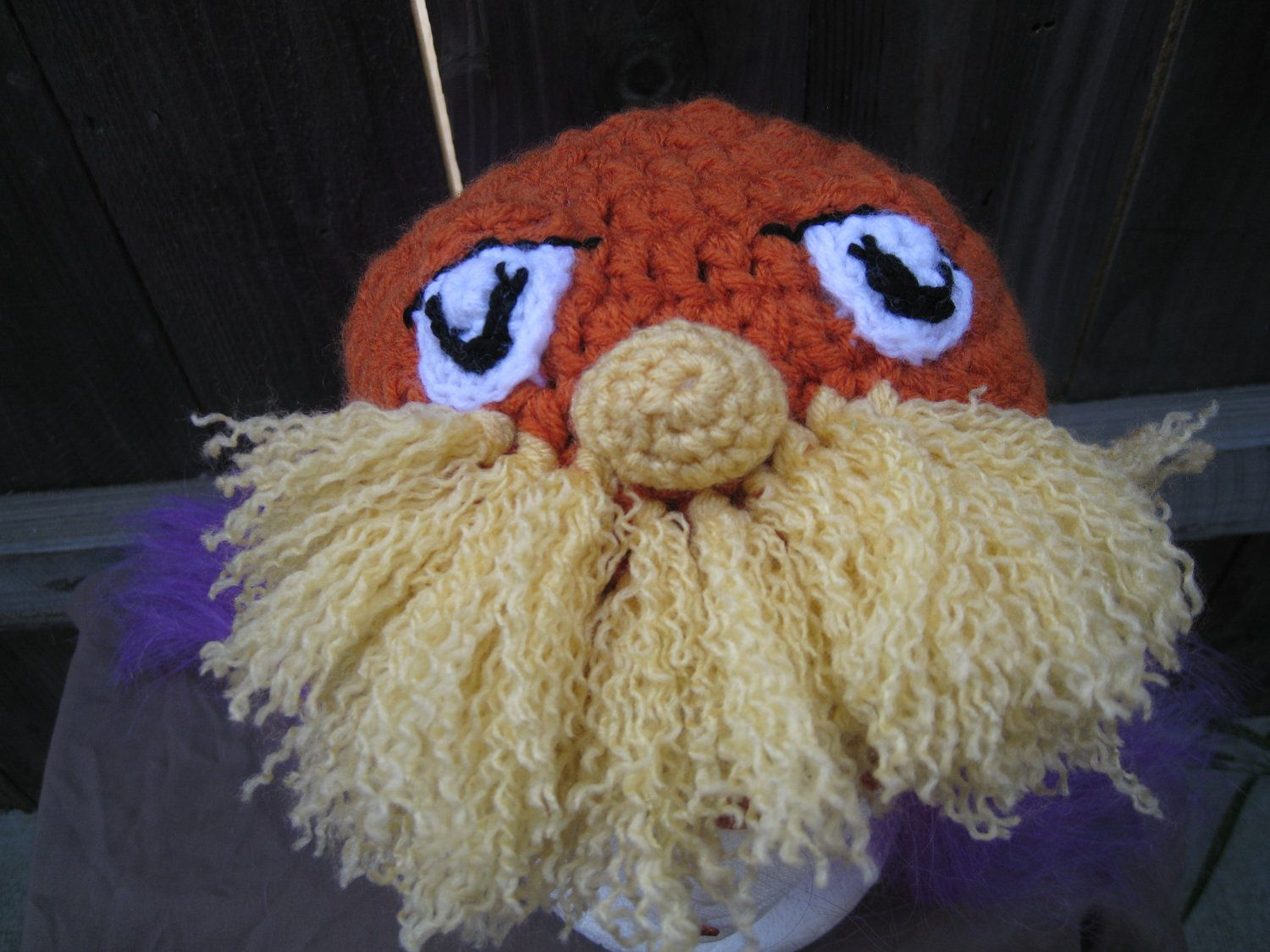 Lorax Tribute Hat - $20.00 on Etsy.