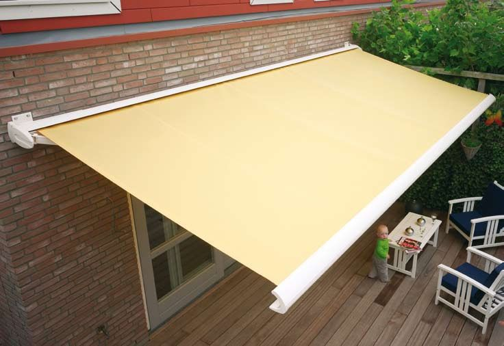 Amazing Simple Garden Awning To Provide Shade This Is A Better Option As Itu0027s  Retractable.might Be Better Than Having A Permanent One Thatu0027s Out All The  Time.