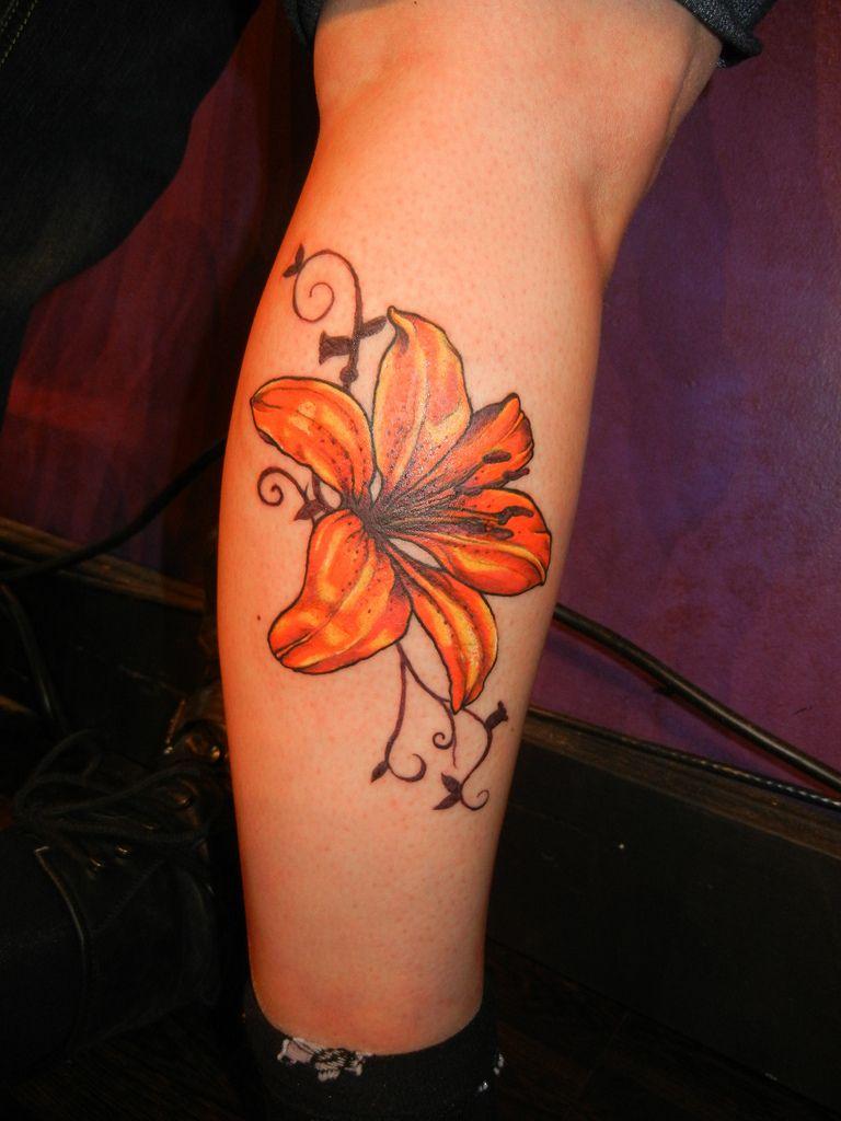 Tattoo Tiger Lily Flower Tattoos Amazing Tiger Lily Flower Tattoo
